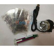 Bga stencil da máscara de solda tinta kit ferramenta para reparo reparo para o iphone cpu nand flash ic chip reballing placa lógica