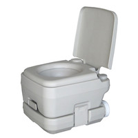 Portable Camping Travel Toilet WC 10L Removable Flushing Toilet Travel Hiking Outdoor Camping Potty