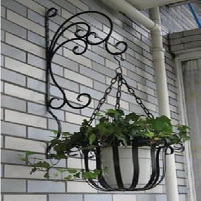 novedad rstico multilayer flor hierro moda destacan balcn interior francesa maceta titular cesta colgante