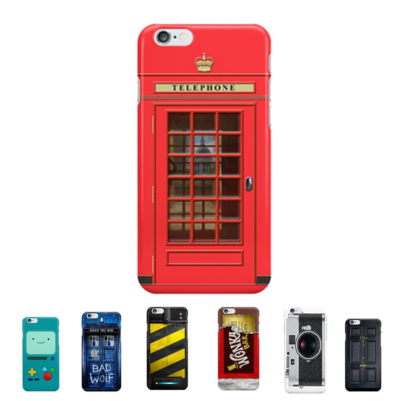 Innovation Funny Hard Case For Fundas iPhone 6 6s Plastic Back Covers Retro Style Vintage Game Controllers Camera Pattern Coque