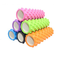 45*14cm Yoga Block Fitness Equipment Eva Foam Roller Blocks Pilates Fitness Gym Exercises Massage Roller Yoga Block Sport Tool
