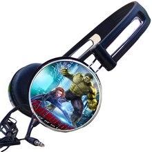 Atacado The Avengers Hulk Robert Bruce Banner Punisher Gaming Headset Fone de Ouvido Estéreo de Fone De Ouvido Fones De Ouvido para o Telefone Móvel Mp3 PC Presente