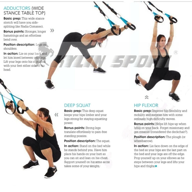 Military Fitness Resistance Bands Hanging Training Strap Übung - Fitness und Bodybuilding - Foto 6