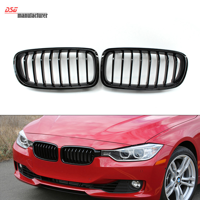 F30 F31 Black Grill Kidney Grille For Bmw 3 Series F30 Sedan F31
