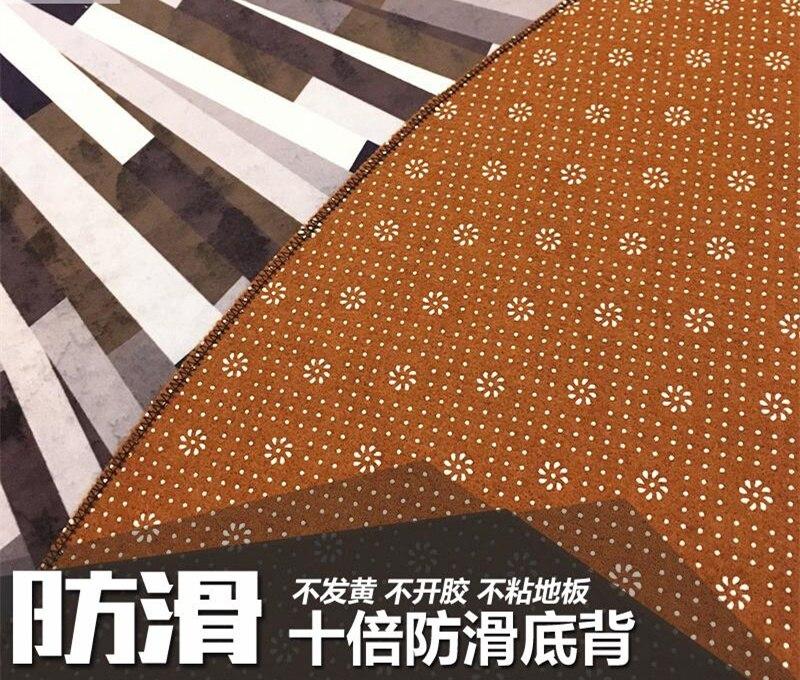 Fabriksnye Geometrische striped teppiche schwarz und weiß grau einfache PT-96