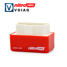 2016 A++ Quality NitroOBD2 Diesel Car Chip Tuning Box Plus and Drive Nitro OBD2 More Power and Torque For Diesel Car Interface