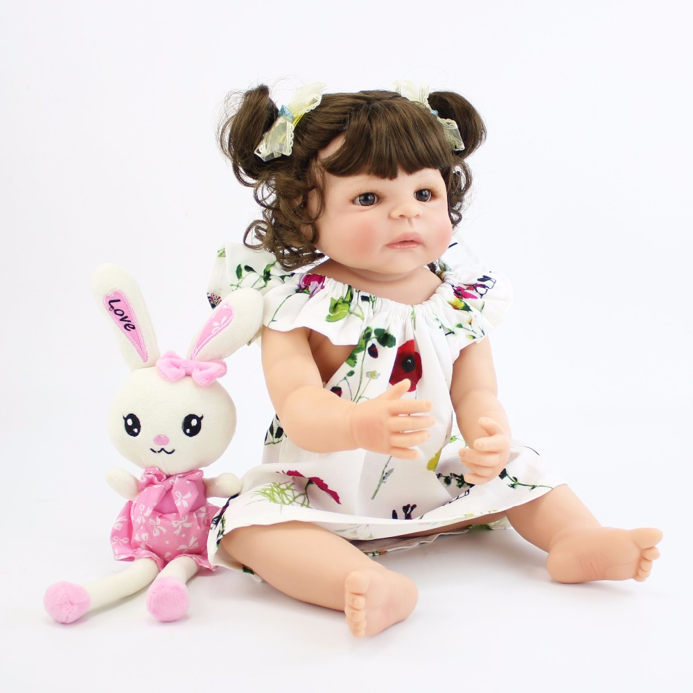 55cm Full Body Silicone Reborn Baby Doll Toys For Girls Cheap Bonecas Newborn Princess Bebe Alive Babies Present Gift Bathe Toy55cm Full Body Silicone Reborn Baby Doll Toys For Girls Cheap Bonecas Newborn Princess Bebe Alive Babies Present Gift Bathe Toy