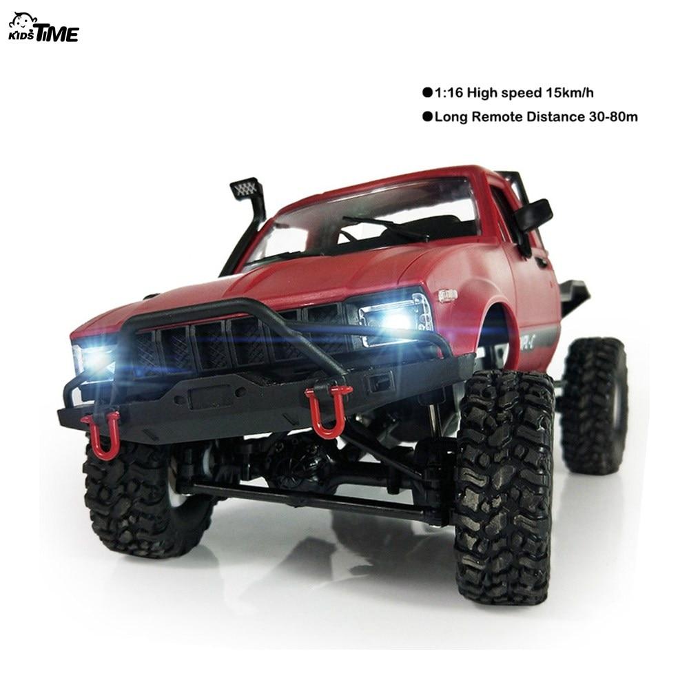 2018 neue WPL C14 1:16 2ch 4wd Kinder RC Lkw 2,4g Off-Road Truck Elektrische RC Auto 15 km/std Top Speed RTR/KIT Mini Racing Auto Spielzeug