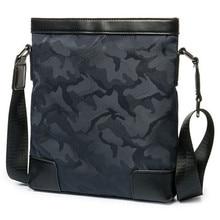 Лидер продаж 2017, камуфляжная нейлоновая сумка на плечо, холщовая мужская сумка, вертикальные сумки высокого качества, сумки средней емкости для сообщений