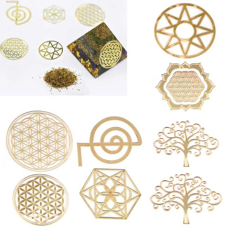 エネルギータワーパターンペースト銅 Diy 作る金型クラフトジュエリーツール