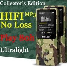 "Ejército Verde de la Música Original RUIZU X02 HI-FI de Alta Calidad Ultraligero Deportes Correr Reproductor de MP3 8 GB 8 GB 1.8 ""pantalla MP 3 Juego 80 horas"