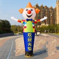 Air Dancers, inflator, inflatable cartoon, wavy clown, dancing balloon, puppet with a blower.