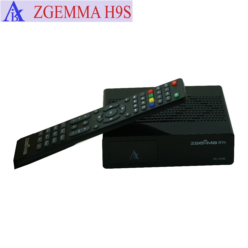 zgemma h9s 4K digital satellite tv box dvb s2/s2x multistream and iptv with  stalker
