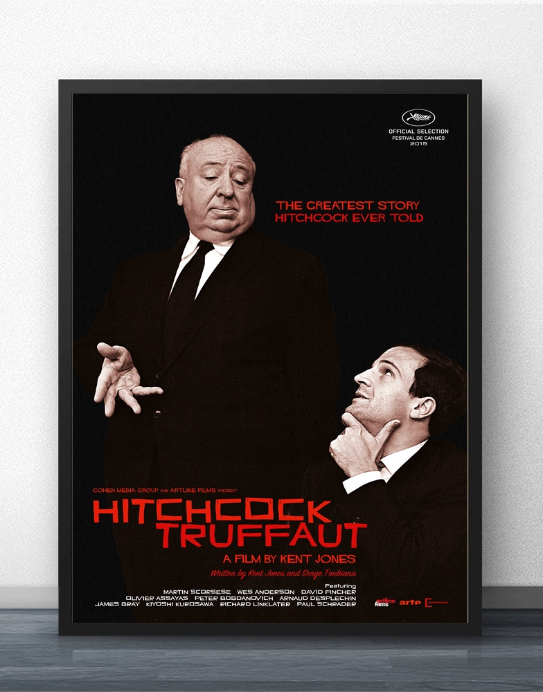 Hitchcock Truffaut Movie Wall Art Paint Wall Decor Canvas Prints Canvas Art Poster Oil Paintings No Frame image