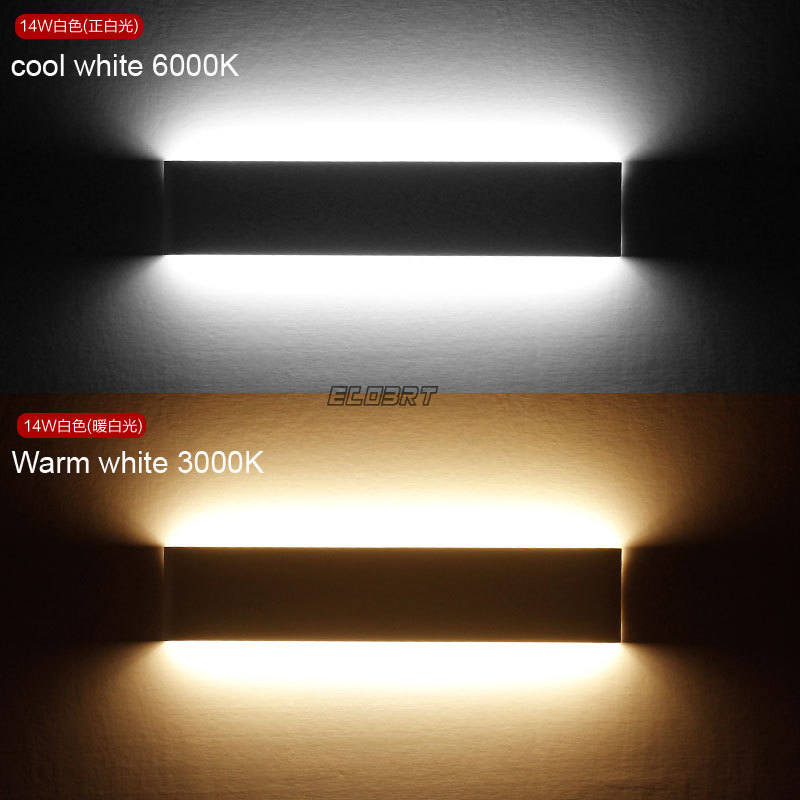 Modern 6w 24cm Long Linear Aluminum Lampshade Led Bathroom Mirror Light Home Decorative Lamp Illumination Furniture Wall Mounted In Indoor Lamps