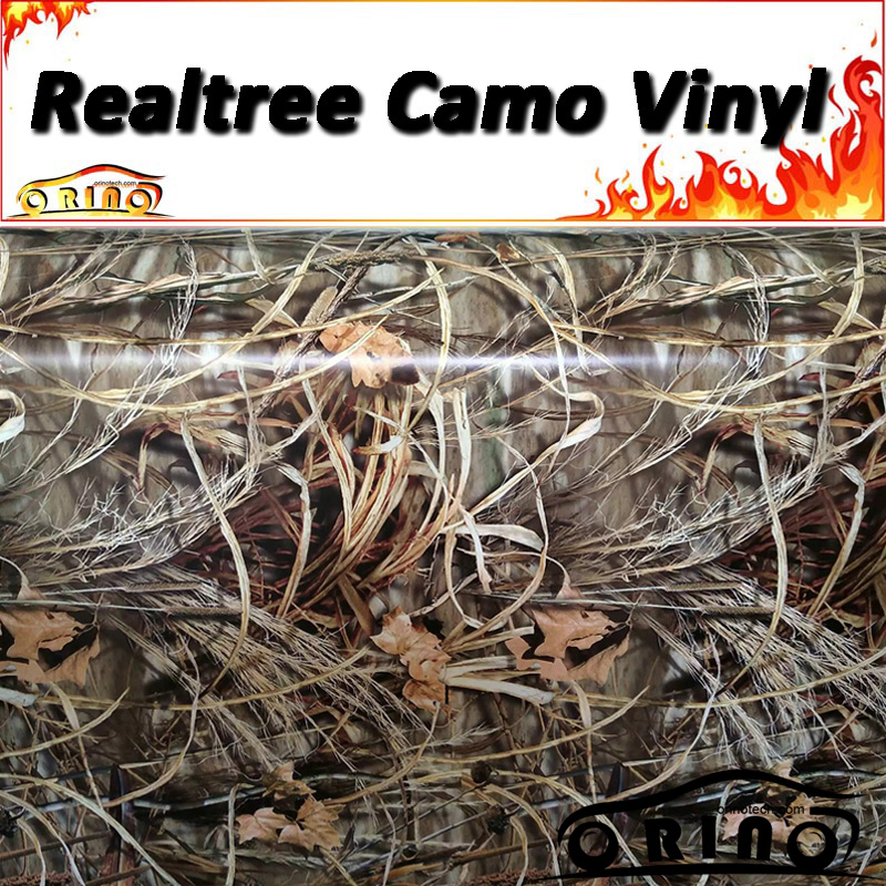 "4 CAMOUFLAGE VINYL DECAL 52/"" x 16/"" TRUCK WRAP TREE PRINT DUCK CAMO GRASS"
