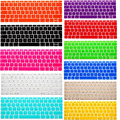 2015 New EU Silicone Keyboard Protector Cover Skin film for macbook Pro 13 15 17 Retina air 13