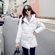 2016 winter jacket female duck Parkas Casual Jackets in the 60 s 1950 s long warm