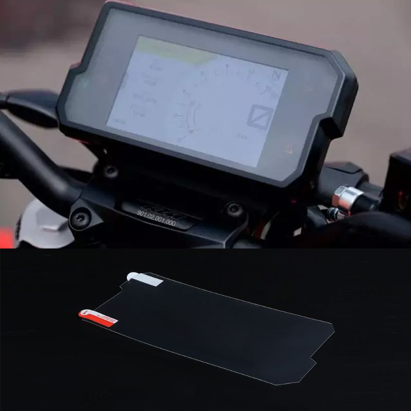 2 Set Cluster Scratch Cluster Screen Protection Film Protector For <font><b>KTM</b></font> <font><b>Duke</b></font> <font><b>390</b></font> <font><b>DUKE</b></font> <font><b>2017</b></font> 2018 image