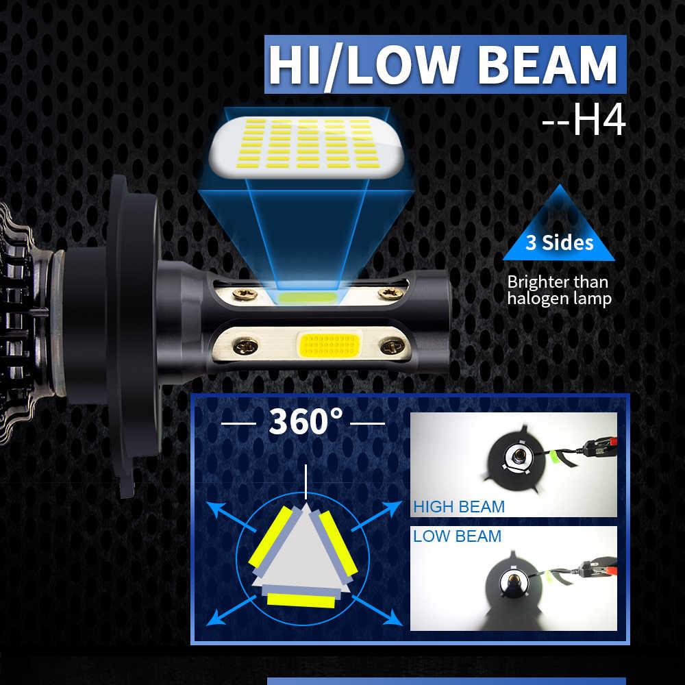 BraveWay 9005 9006 LED Bulb for Motorcycle H4 H7 H11 Led 6500K Car Lights H4 LED Auto Lamps BH4 HB3 Fog Lights H8 Lamp