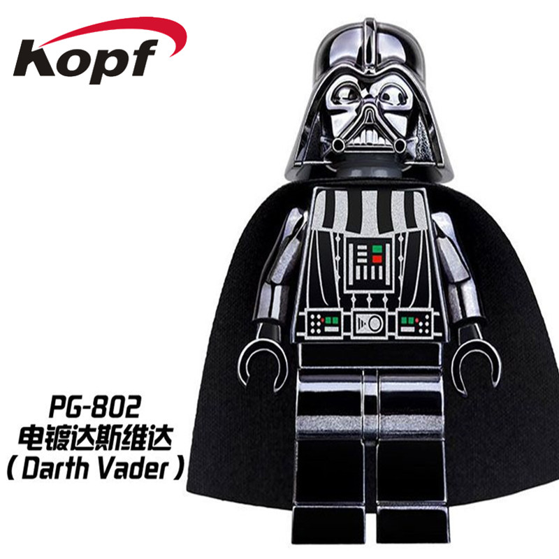 Super Heroes Space Wars Chrom Darth Vader Iron Man Captain