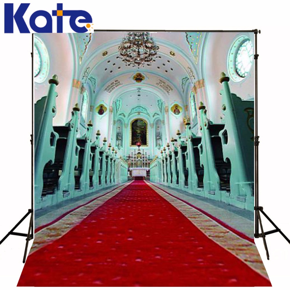 Kate Xft Wedding Church Photo Background Red Carpet Palace Photography Backdrops Washable Background  Lk In Background From Consumer Electronics On