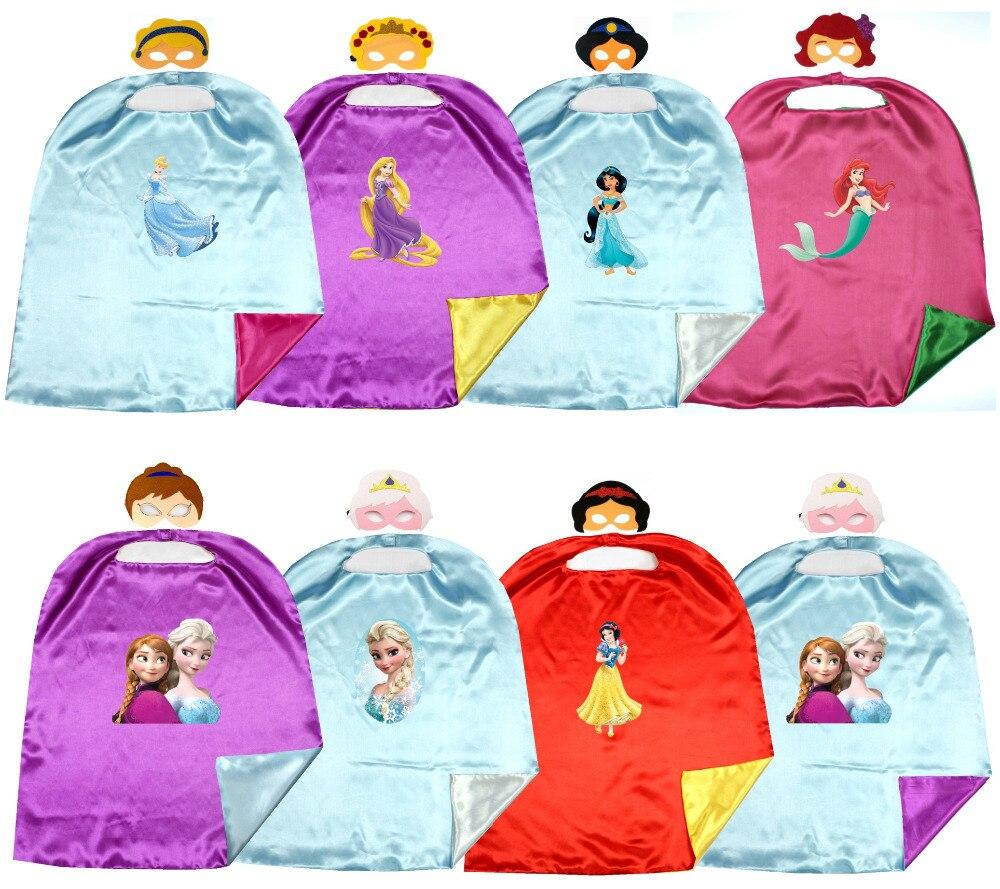 ドレッシングアップ王女ジャスミン白雪姫コスチューム用女の子子供の誕生日パーティー好意衣装
