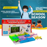 115 projects integrated electronic building assembled blocks amazing colorful toys educational learning toys,plastic model kit
