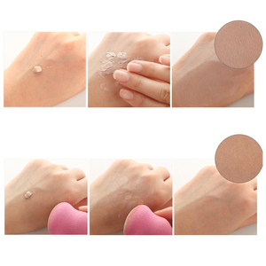 Image 4 - 4pcs/lot Makeup Sponge Cosmetic Puff Mixed Shapes and Colors Facial Liquid Foundation Base Powder Blending Tool