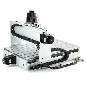 Image 3 - Fresadora CNC 6040 de 3 ejes y 4 ejes 2,2 kW, fresadora CNC, máquina de tallado de madera, USB Mach3, Control de carpintería