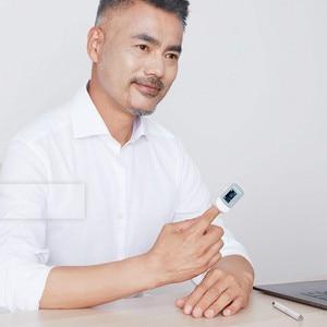 Image 5 - Original xiaomi Yuwell Oximeter OLED 스크린 디지털 핑거 팁 펄스 케어 고속 센서 자동 전원 끄기 건강