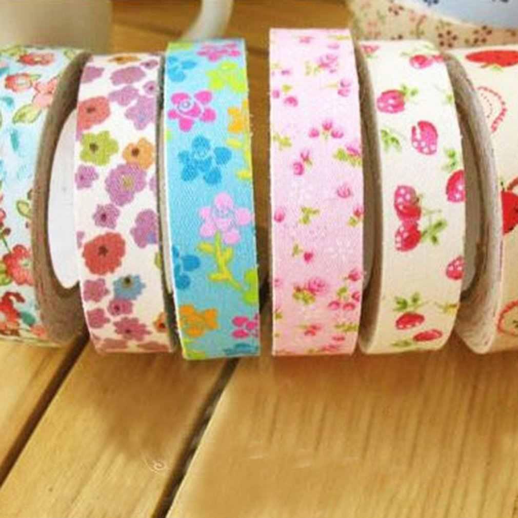 Cinta de impresión, estampado Floral, planchado, pliegue único, algodón, cinta de polarización, encuadernación para la tabla, ropa, colcha, artesanía, costura