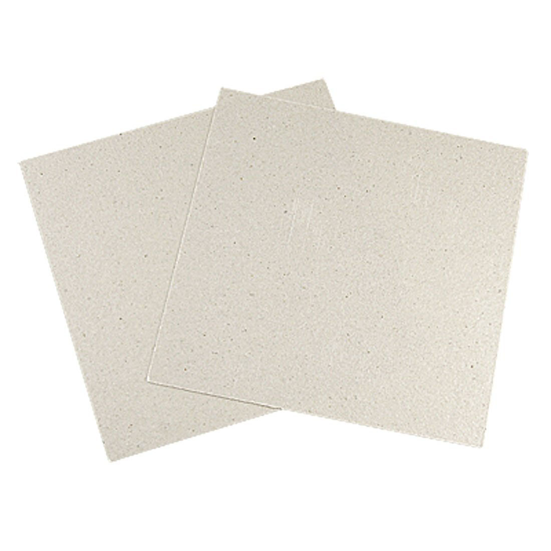 2 Pcs Microwave Oven Repairing Part Mica Plates Sheets 4.8