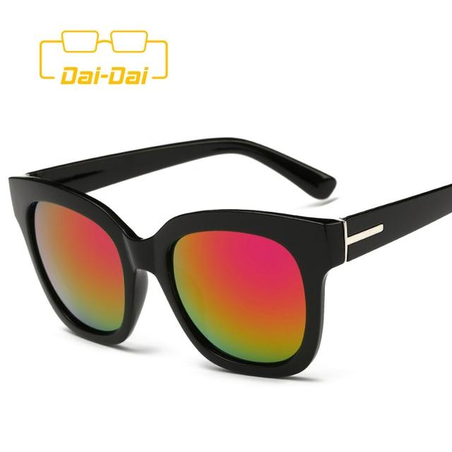DAI DAI Stylish Driver Femme Square Frames Sunglasses Funky ...