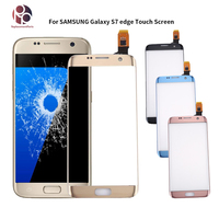 Original 5.5 inches Touch screen For Samsung Galaxy S7 Edge G9350 G935 G935F Front Glass Touch Screen Digitizer Sensor with Logo