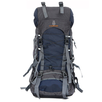 60L Nylon Oxford Waterproof Dry Bag Outdoor High Quality Travel Backpack Men Women Camping Mountaineering Hiking