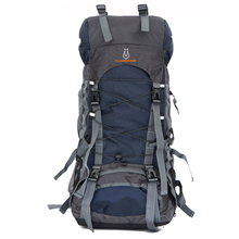 60L Nylon/Oxford Waterproof Dry Bag Outdoor High Quality Travel Backpack Men Women Camping Mountaineering Hiking Backpacks  цена 2017