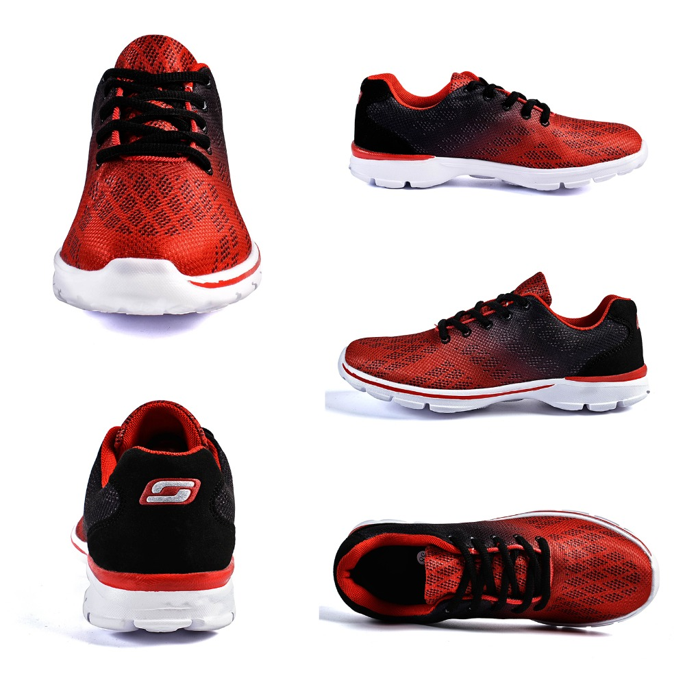 QANSI New Gradually Changing Color Women Running Shoes Spring Autumn Breathable Shoes Outdoor Sport Sneakers For Female 1678W 30