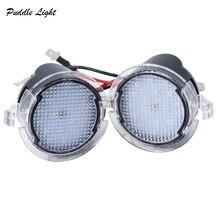 Super bright 2x 18SMD LED Sob o Lado do Espelho Puddle Luz para Ford Mondeo Borda Explorador Taurus F-150 S-Max 2015