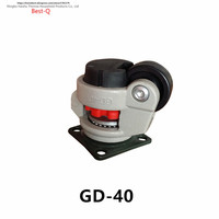 Special Universal Level Adjusting Castor Heavy Equipment Wheel GD 40F Medical Machinery Flat Support Universal Wheel