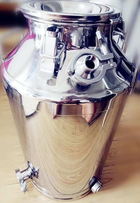 Réservoir 70L pour la Distillation chaudière distillerie réservoir acier inoxydable 304