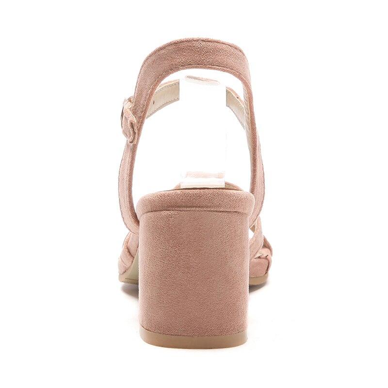 Data New Rosa Nero Size scarpe tacco spose Donna fibbia Tacchi Doratasia Moda Big 32 Donna sandali alti alto con Beige festa 46 F1SqWTndWw