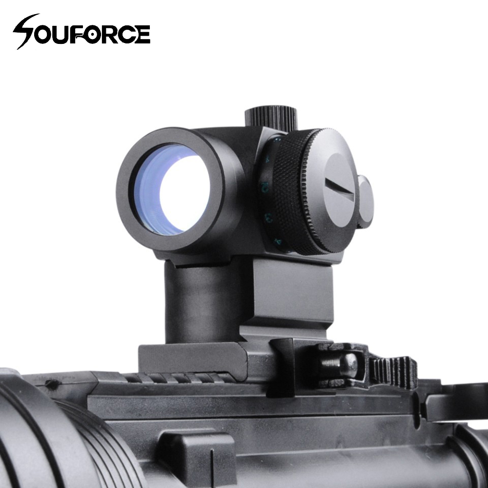 Tactical QD High Red Green Dot Holographic Sight Riflescope with 20mm Picatinny Weaver Rail for Rifle Airsoft Hunting tactical rifle scope 2x28 green optical fiber dot sight riflescope hunting shooting for 20mm weaver picatinny rail mount