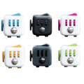 11 colors Magic Fidget Cube a vinyl desk toy 2016 New Fidget Cube anti irritability toy magic cobe Funny Christmas gift stock