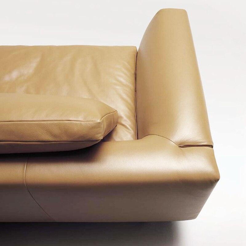 daryl down home woonkamer sofa leren bank hoekbank combinatie ...