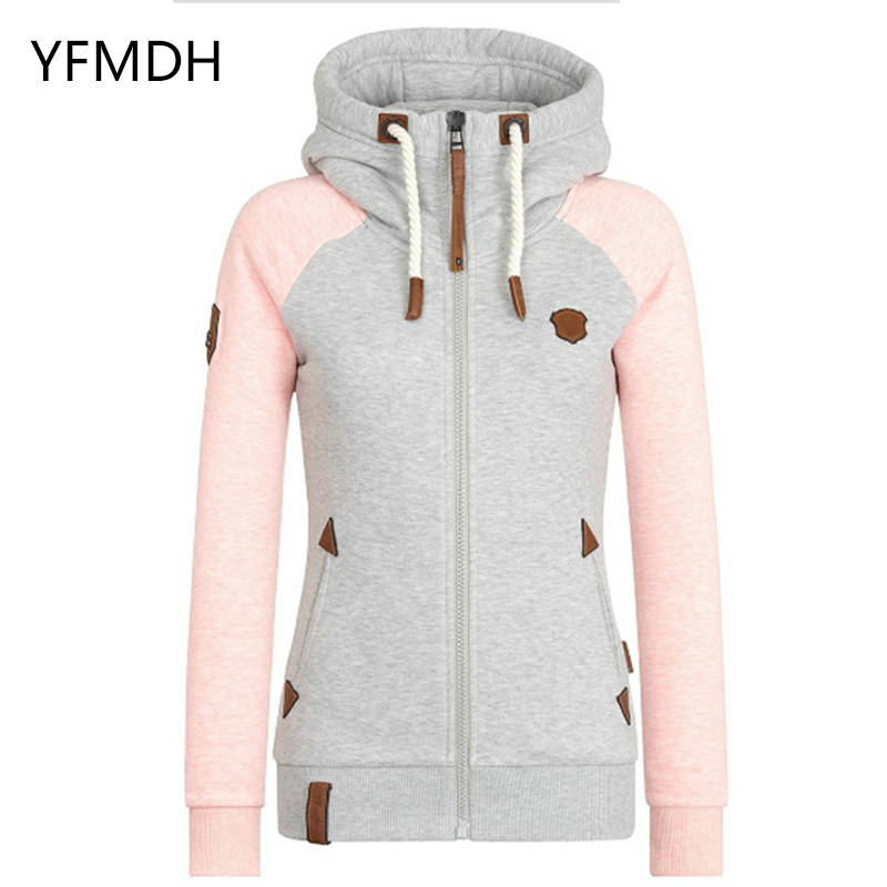 New Autumn Winter Women Solid Color Hooded Coat Warm Windbreaker Female Windproof Polar Fleece   Basic     Jacket   Coat Plus Size M-5XL