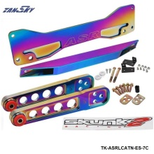 TANSKY -Neochrome Rear Subframe Brace+Lower Tie Bar+Lower Control Arm LCA For Honda Civic Acura RSX Si EP3 ES TK-ASRLCATN-ES-7C