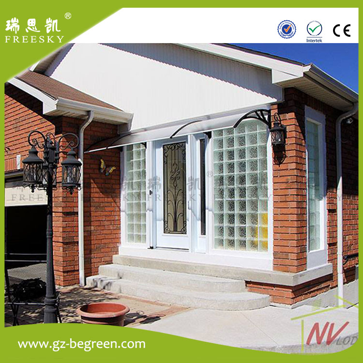yp100200alu 100x200cm 39x79in aluminum support garden used door awningmetal frame awning awning canopy door