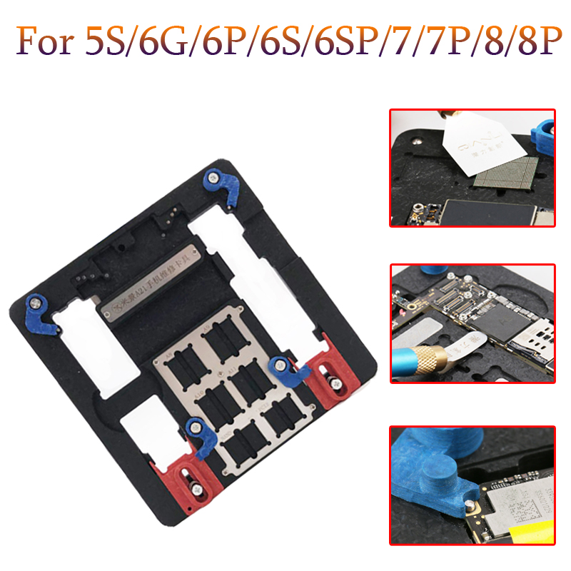 Newest Circuit Board PCB Holder Jig Fixture Work Station for iPhone 8 7 6SP 5S Logic Board A8 A9 A10 A11 Chip Repair Tools