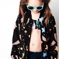 Полет Куртки Детские Осень Тонкий Девушки Куртка Пальто Мальчиков Куртка Дети Куртки Пальто Молния Детская Одежда